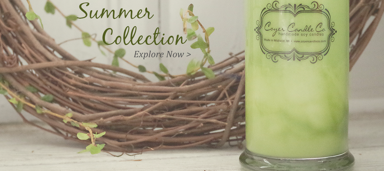 Coyer Candle Co Summer Collection