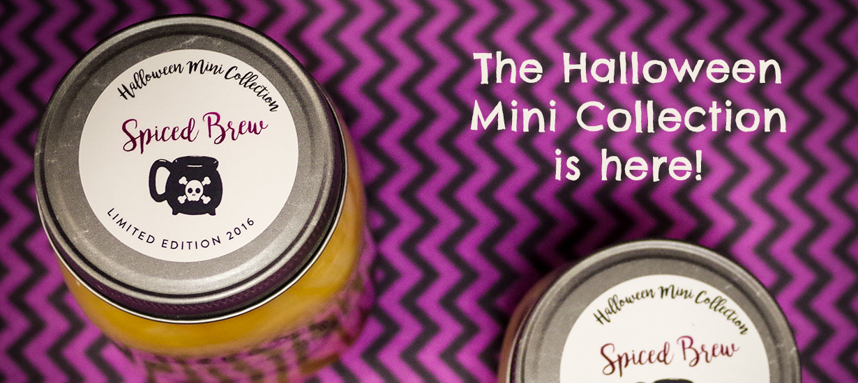 Coyer Candle Co Halloween Mini Collection