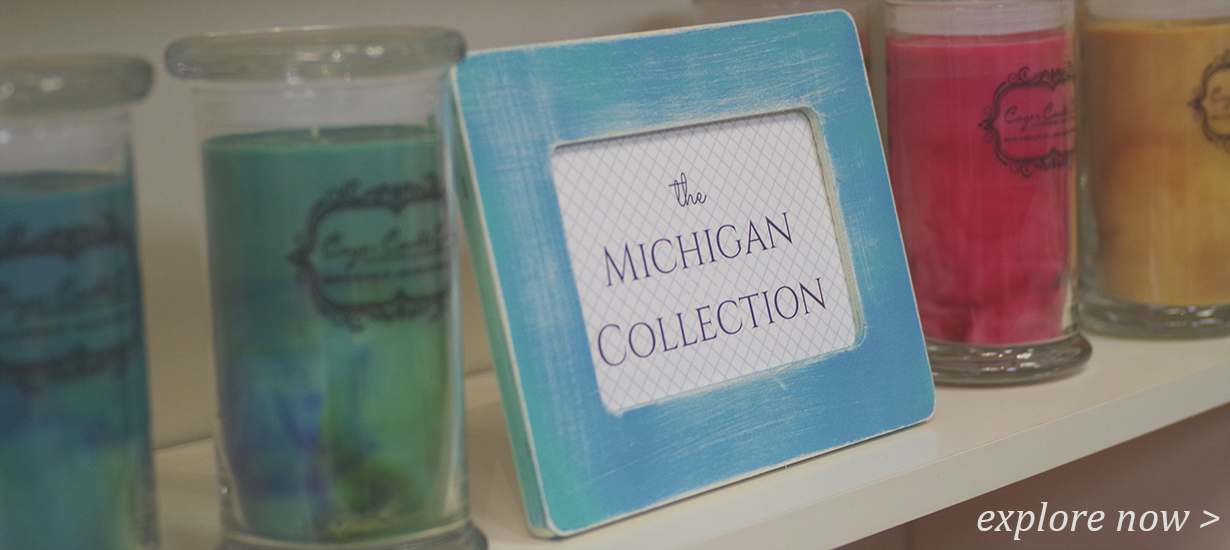 Coyer Candle Co Michigan Collection