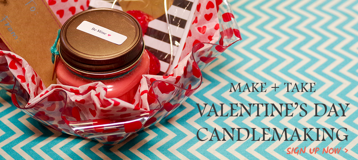 Coyer Candle Co Valentines Day Class